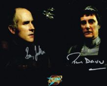 Blake's 7 Autograph Signed Photo - Darrow & Jackson